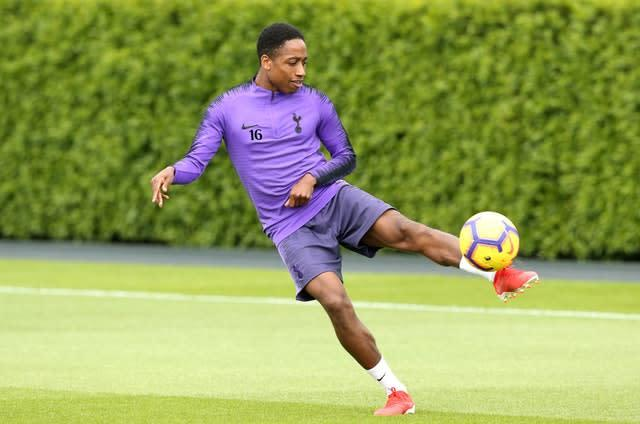 Tottenham's Kyle Walker-Peters could be sent out on loan (Paul Harding/PA)
