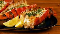 """<p>The fanciest thing you'll put on your grill all summer.</p><p>Get the recipe from <a href=""""https://www.delish.com/cooking/recipe-ideas/a26883467/grilled-lobster-tail-recipe/"""" rel=""""nofollow noopener"""" target=""""_blank"""" data-ylk=""""slk:Delish"""" class=""""link rapid-noclick-resp"""">Delish</a>.</p>"""