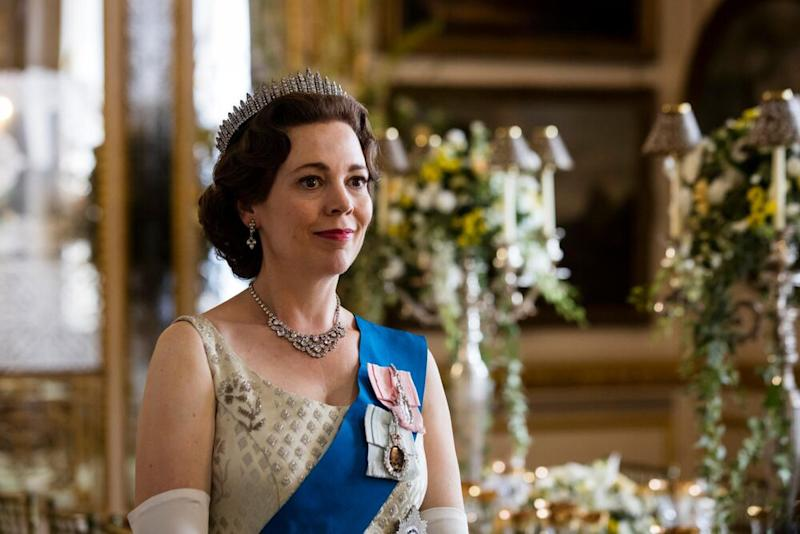 Olivia Colman in The Crown | Courtesy Des Willie/Netflix