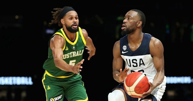 Team USA dominates Australia in the second half to win first exhibition, 102-86