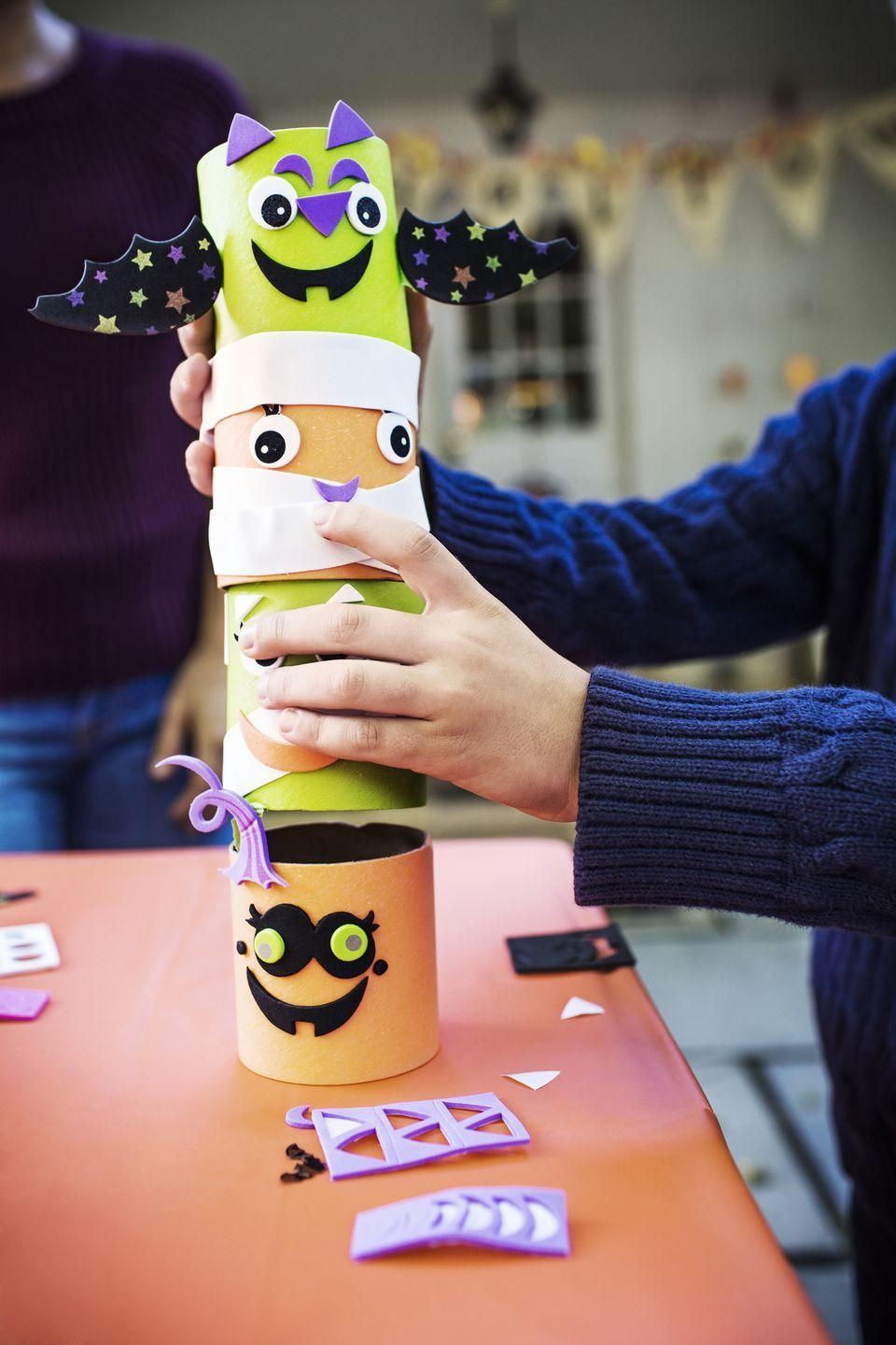 """<p>To keep kids entertained, pick up some supplies to make themed crafts. You can make Halloween specific ones, or get prepared for Thanksgiving with some <a href=""""https://www.delish.com/food-news/g33809443/thanksgiving-crafts-kids/"""" rel=""""nofollow noopener"""" target=""""_blank"""" data-ylk=""""slk:DIY activities"""" class=""""link rapid-noclick-resp"""">DIY activities</a>, too.</p><p><a class=""""link rapid-noclick-resp"""" href=""""https://www.delish.com/food-news/g33809443/thanksgiving-crafts-kids/"""" rel=""""nofollow noopener"""" target=""""_blank"""" data-ylk=""""slk:GET FALL CRAFT IDEAS"""">GET FALL CRAFT IDEAS</a></p>"""