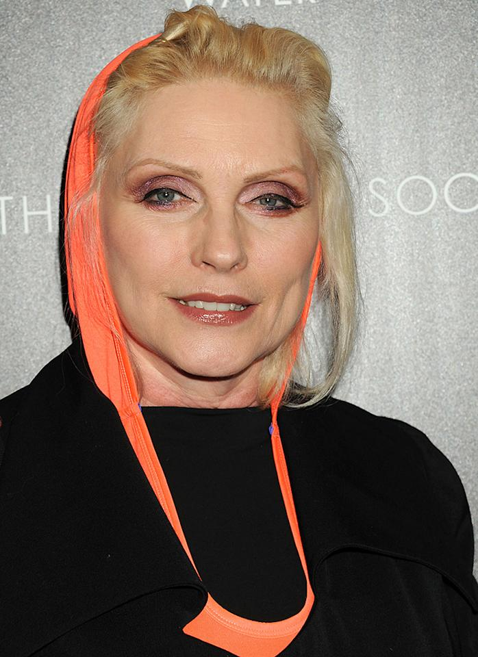 "NEW YORK, NY - APRIL 21:  Deborah Harry attends The Cinema Society Screening Of ""Mud"" hosted by Fiji Water and Levis held at The Museum of Modern Art on April 21, 2013 in New York City.  (Photo by Jennifer Graylock/Getty Images)"