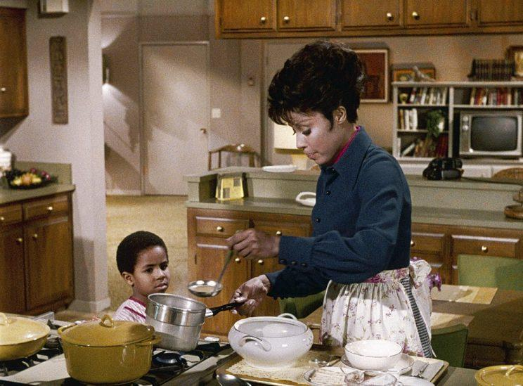 Marc Copage as Corey Baker and Diahann Carroll as Julia Baker in Julia. (Photo: NBC/NBCU Photo Bank via Getty Images)