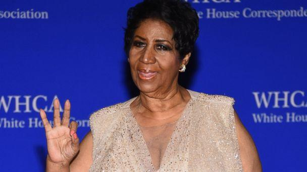 PHOTO: Aretha Franklin attends the 102nd White House Correspondents' Association Dinner on April 30, 2016 in Washington. (Larry Busacca/Getty Images)