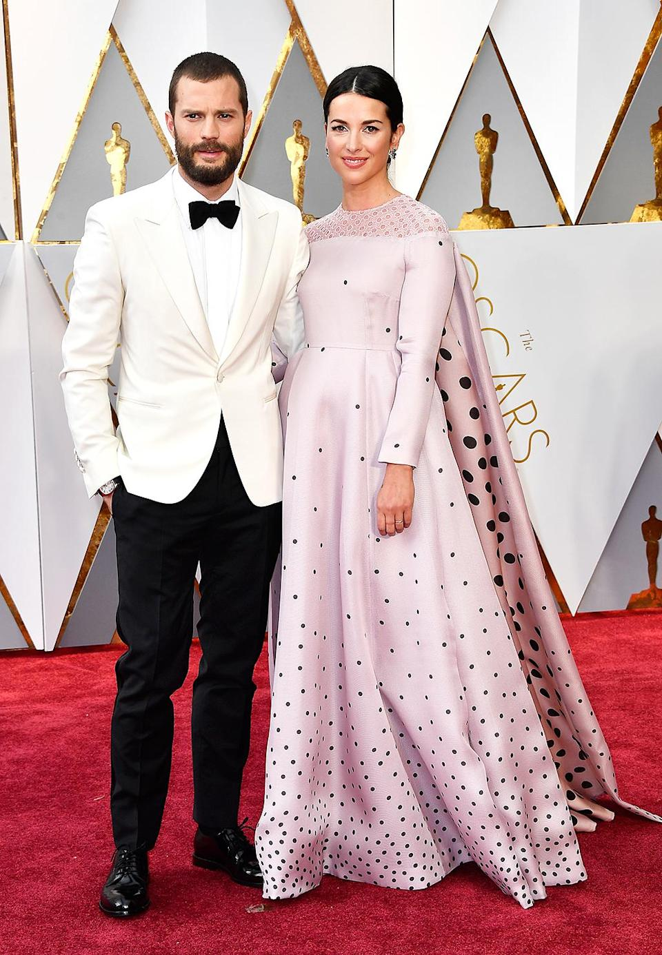 <p>Jamie Dornan and Amelia Warner attend the 89th Annual Academy Awards at Hollywood & Highland Center on Feb. 26, 2017. (Photo by Frazer Harrison/Getty Images) </p>