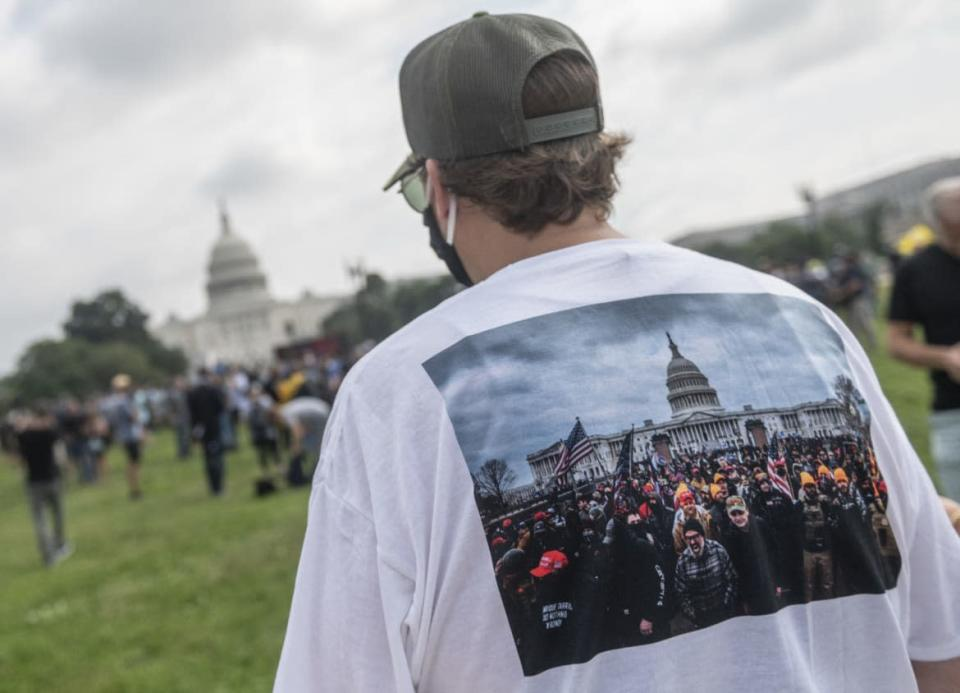 """<div class=""""inline-image__caption""""><p>The crowd at the rally to support jailed MAGA rioters was not huge.</p></div> <div class=""""inline-image__credit"""">Andrew Caballero-Reynolds/Getty</div>"""