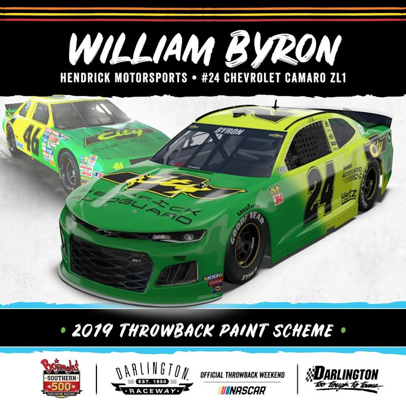William Byron dropping the hammer with 'Days of Thunder