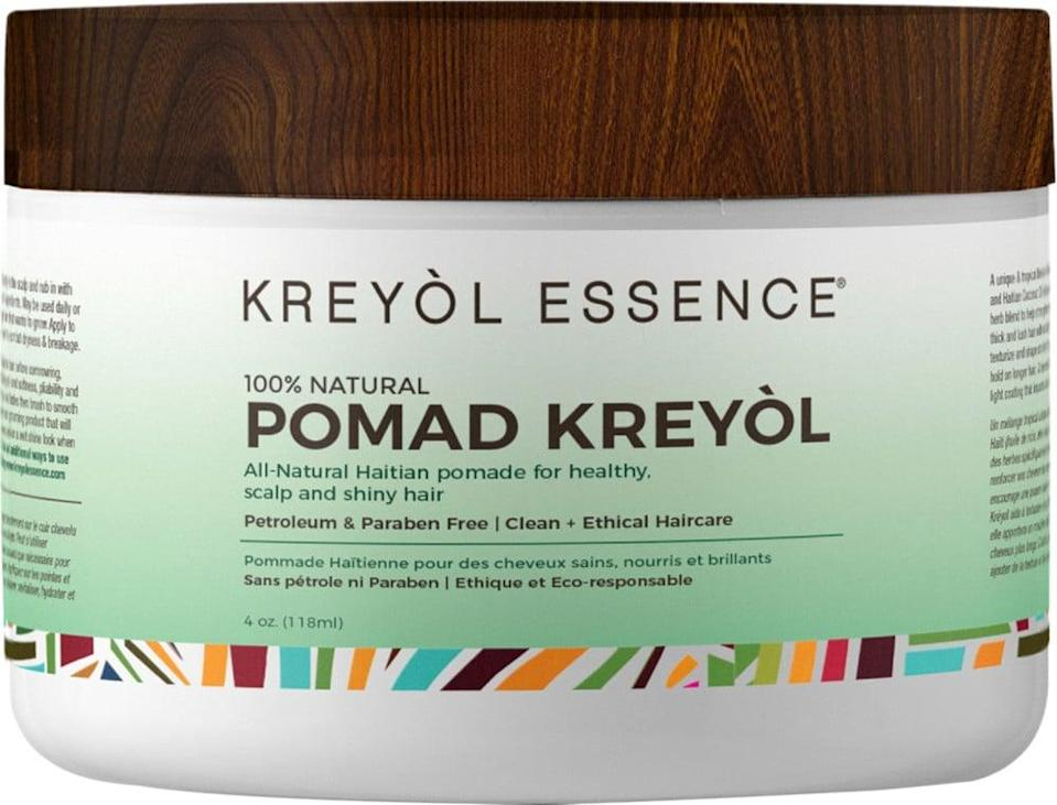 <p>The <span>Kreyòl Essence Pomad Kreyol Natural Scalp Treatment</span> ($22) nourishes your scalp to strengthen hair from the root.</p>