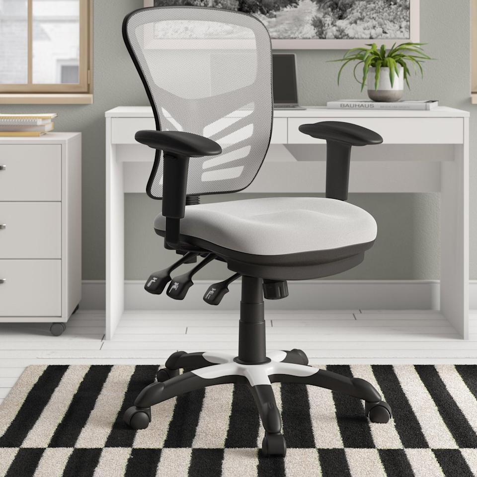 "<br><br><strong>Zipcode Design</strong> Billups Ergonomic Mesh Task Chair, $, available at <a href=""https://go.skimresources.com/?id=30283X879131&url=https%3A%2F%2Fwww.wayfair.com%2Ffurniture%2Fpdp%2Fzipcode-design-billups-ergonomic-mesh-task-chair-zpcd6914.html"" rel=""nofollow noopener"" target=""_blank"" data-ylk=""slk:Wayfair"" class=""link rapid-noclick-resp"">Wayfair</a>"