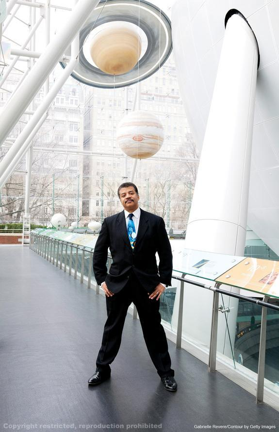 """Astrophysicist Neil deGrasse Tyson was named one of the 25 most influential people in space in the new book """"New Frontiers of Space."""" Image uploaded on July 25, 2013."""