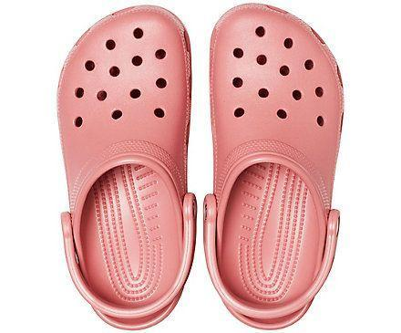 """<p><strong>Crocs</strong></p><p>crocs.com</p><p><strong>$44.99</strong></p><p><a href=""""https://go.redirectingat.com?id=74968X1596630&url=https%3A%2F%2Fwww.crocs.com%2Fp%2Fclassic-clog%2F10001.html%3Fcgid%3Dwomen-footwear-clogs%26cid%3D682%23start%3D1&sref=https%3A%2F%2Fwww.countryliving.com%2Fgardening%2Fgarden-ideas%2Fg25300156%2Fbest-garden-shoes%2F"""" rel=""""nofollow noopener"""" target=""""_blank"""" data-ylk=""""slk:Shop Now"""" class=""""link rapid-noclick-resp"""">Shop Now</a></p><p>Crocs are a mainstay pick for gardening thanks to the openings that allow for airflow and water drainage. Plus they come in every color in the rainbow for men, women, and kids.</p>"""