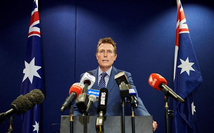 Christian Porter outed himself as the unnamed minister accused of rape - Stefan Gosatti/AFP