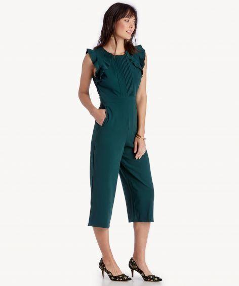 "Get it on <a href=""https://www.solesociety.com/kaia-jumpsuit.html?color=emerald"" target=""_blank"">Sole Society for $167</a>."