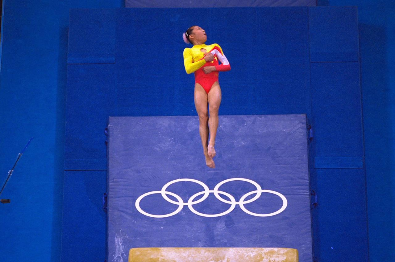 <p>At the 2000 Sydney Olympics, Chinese gymnast Dong Fangxiao helped her team bring home the bronze medal. The problem? She was just 14 at the time and you must be 16 to compete. The Chinese team was eventually stripped of its bronze medal in April 2010. </p>