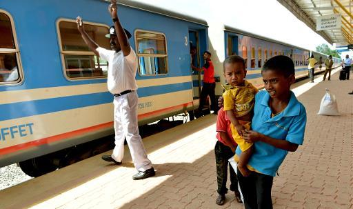 Sri Lanka restores blood-soaked railway to Tamil heartland