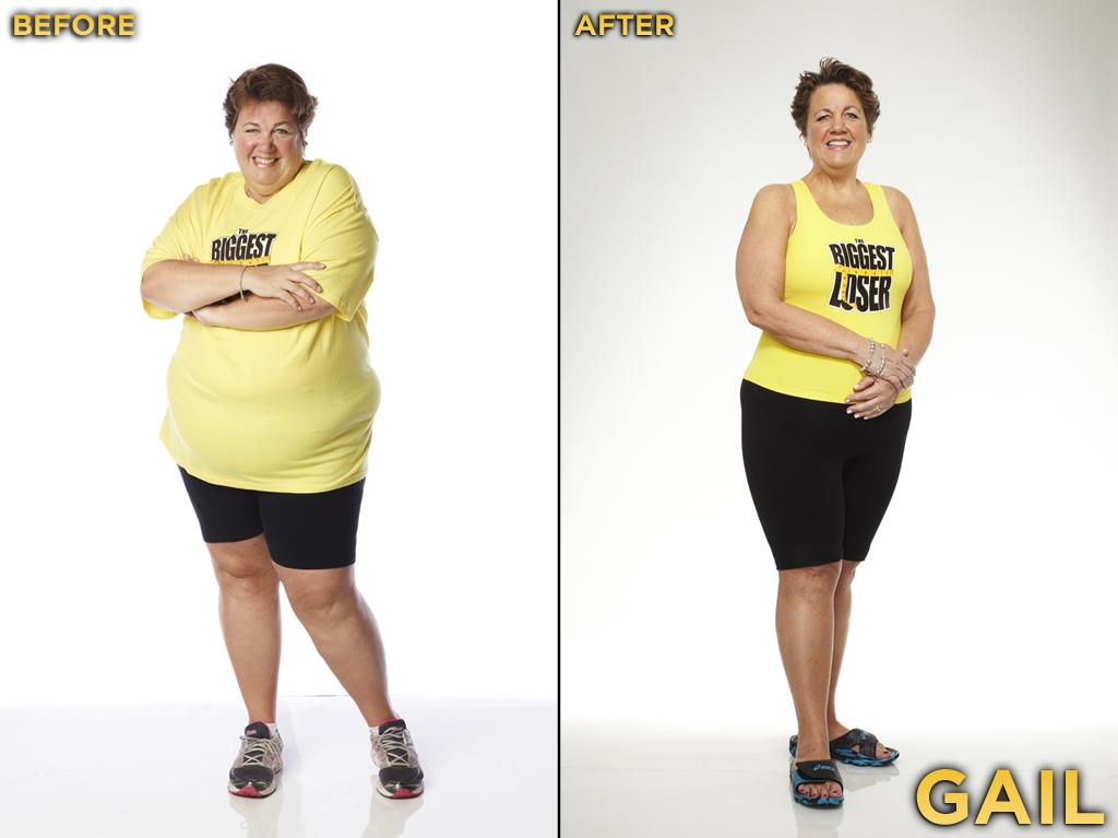 Gail was an editor's dream: She seemed to complain frequently, and we enjoyed watching her lollygag during workouts. We assume she is a lovely person (she seems to have a sense of humor), but since she was on the show for only four episodes, we couldn't really tell. She started the competition at 322 pounds, weighed 235 pounds at the finale, and thus lost 27.02% during the season. Lauren was sent home very early (the week before her mother, Gail), mostly because she was deemed a threat. This was likely true, as she is now running half marathons. She looks terrific! She started the competition at 246 pounds, weighed 157 pounds at the finale, and thus lost 36.18% during the season.