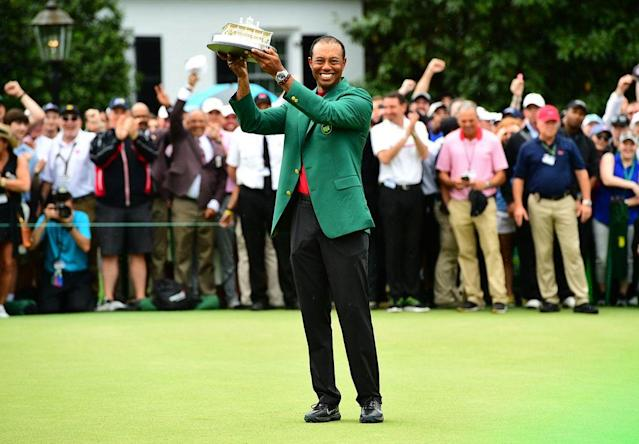 Tiger's stunning comeback win at Augusta wasn't just a golfer finding his way. It was about a 43-year-old man becoming the person he wanted to be—and all of us soaking in the glory.
