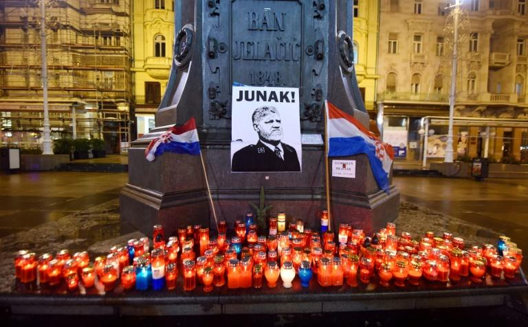Since Bosnian Croat war criminal Slobodan Praljak's suicide, Croats have paid multiple tributes to the late general, laying flowers and lighting candles in town squares in Croatia and Bosnia