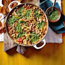 """<p>This warming stew is packed full of flavour, with a hearty base and fresh salsa verde topping. If you can't find mixed beans, use any other tinned or combination of tinned of beans you like.</p><p><strong>Recipe: <a href=""""https://www.goodhousekeeping.com/uk/food/recipes/a35416126/mixed-bean-stew-salsa-verde/"""" rel=""""nofollow noopener"""" target=""""_blank"""" data-ylk=""""slk:Mixed Bean Stew with Salsa Verde"""" class=""""link rapid-noclick-resp"""">Mixed Bean Stew with Salsa Verde</a></strong></p>"""