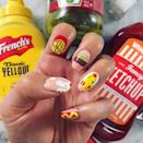 <p>The <em>PLL</em> star showed off her unique junk food-inspired nail art on Instagram. These nails are definitely worth drooling over.</p>