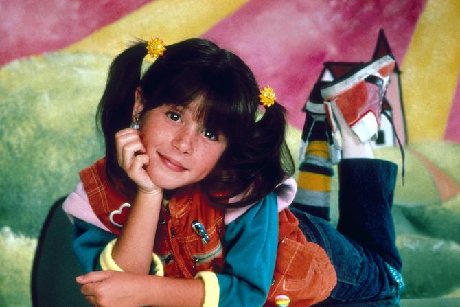 Soleil Moon Frye como Punky Brewster (NBCUniversal Photo Bank)