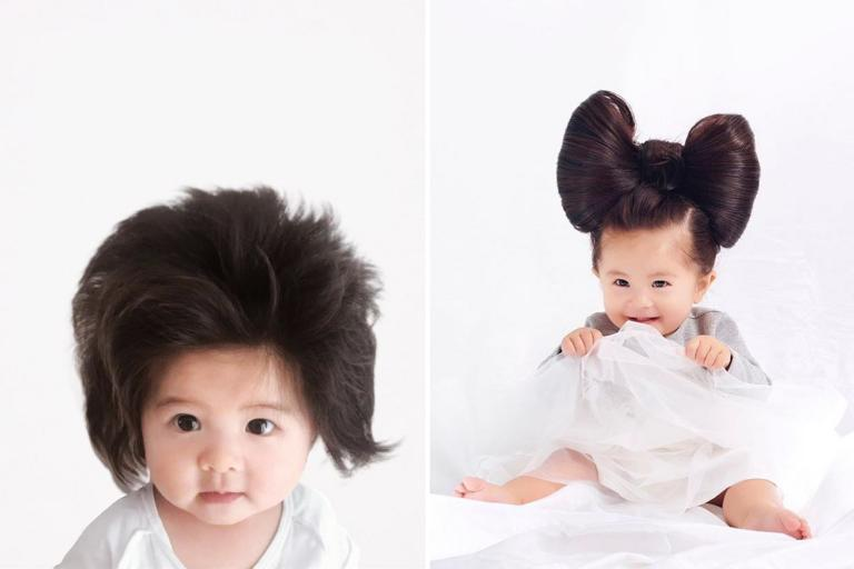 How baby Chanco became the new face of Pantene