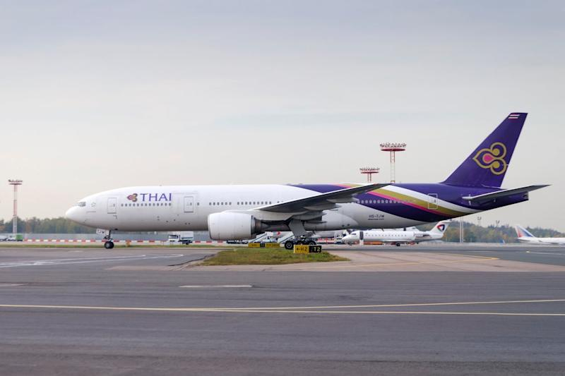 Thai Airways has cancelled upcoming Europe-bound flights: Getty Images