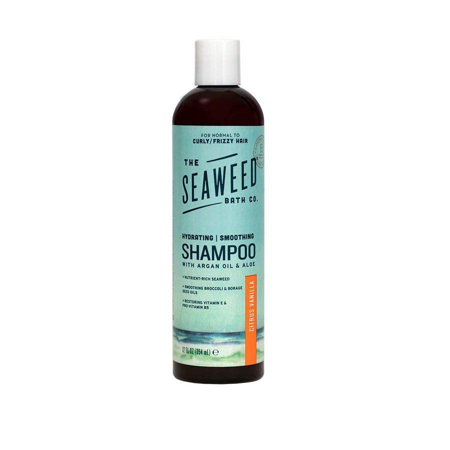 <p>The Seaweed Bath Co.'s shampoo is the secret to smooth, frizz-free hair. With the help of sustainably-harvested bladderwack seaweed, the formula infuses over 65 minerals and vitamins into hair. Nourishing argan and broccoli seed oils hydrate and control frizz. </p>