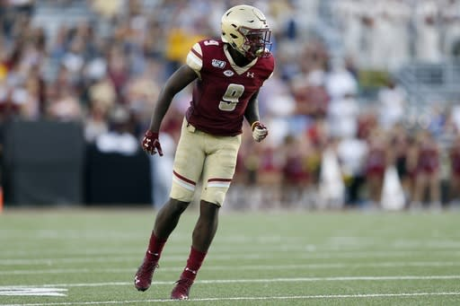 BC receiver Kobay White out for season with ACL