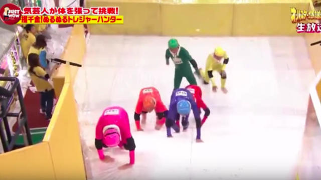 Most of us never knew that watching six contestants trying to climb a slippery staircase could be so compelling, but here we are in the upside-down we call 2017.