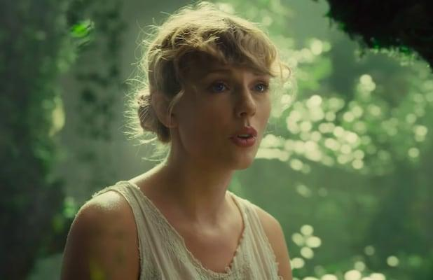 Watch Taylor Swift and Her Magical Piano Travel Through Realms in 'Cardigan' Music Video