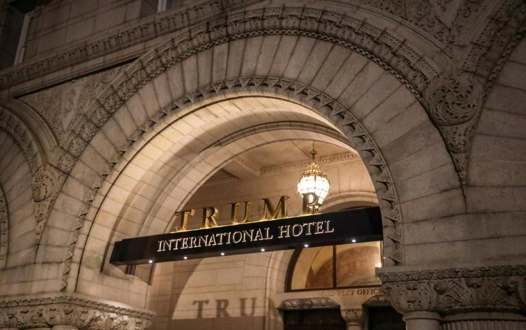 Donald Trump's victory in the 2016 presidential election immediately made the five-star Trump International Hotel a hub for Washington politics