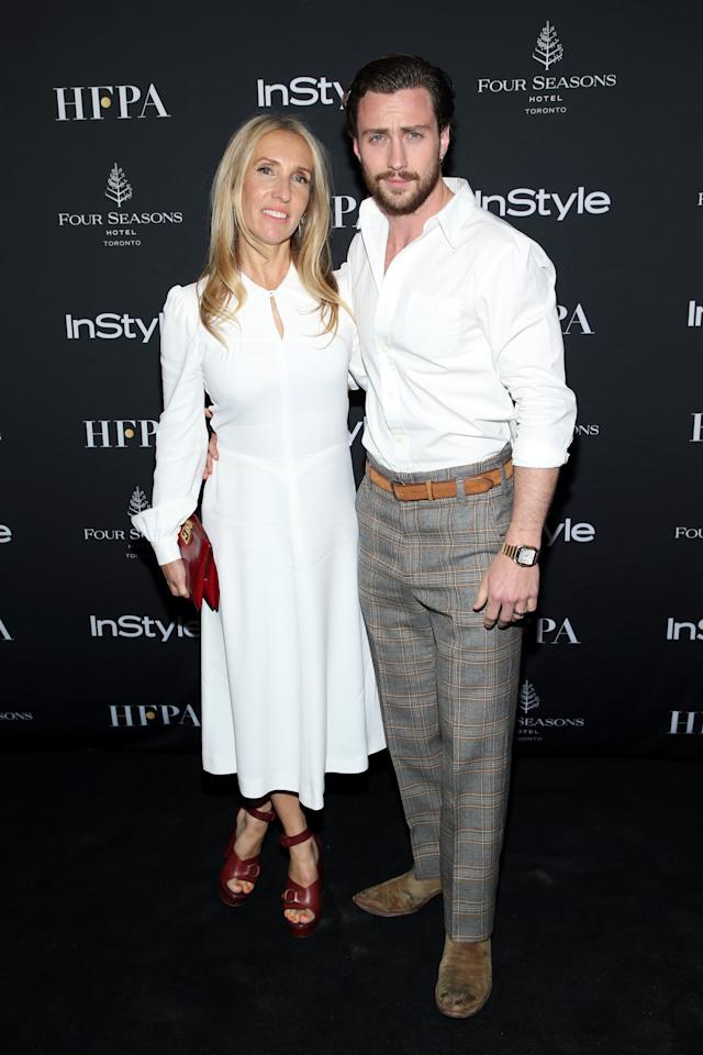 "<p>Director Sam Taylor Johnson looked chic as she made her TIFF return to promote her film, ""A Million Little Pieces"" which co-stars her husband, actor Aaron Taylor Johnson. </p>"