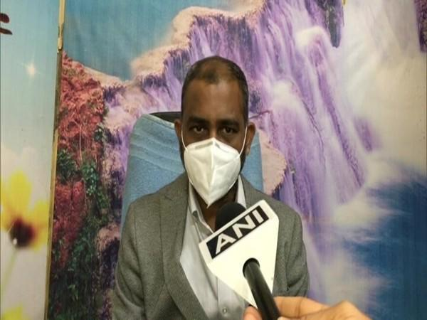Indore COVID Nodal Officer Dr Amit Malakar in conversation with ANI. (Photo/ANI)