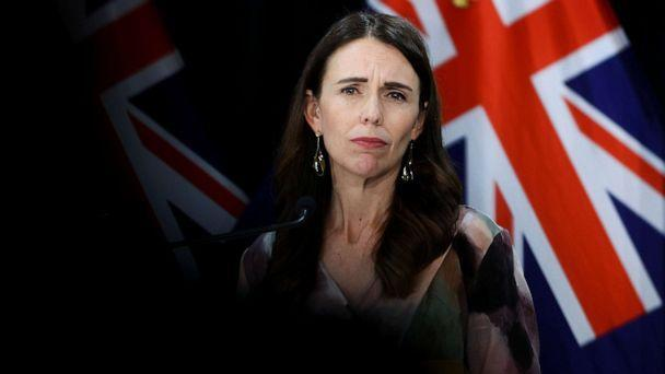 PHOTO: Prime Minister Jacinda Ardern speaks to media during a post cabinet press conference at Parliament on March 1, 2021 in Wellington, New Zealand. (Hagen Hopkins/Getty Images, FILE)
