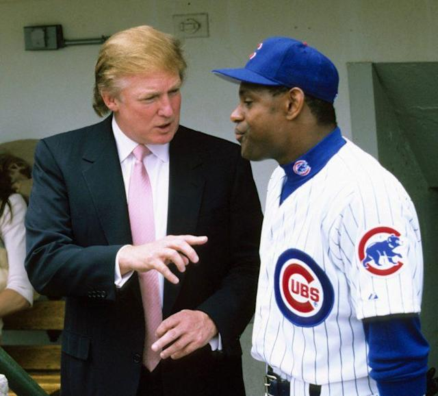 Donald Trump knows baseball. (Getty Images/Ronald C. Modra/Sports Imagery)