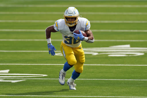 Chargers place Austin Ekeler on IR with hamstring injury