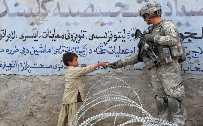 US soldiers are currently withdrawing from Afghanistan after 20 years - KIM JAE-HWAN/AFP