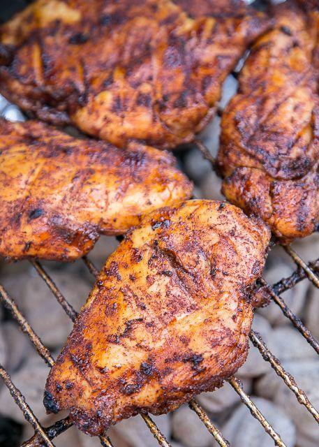 """<p>The ultimate flavor combo.</p><p>Get the recipe from <a href=""""http://www.plainchicken.com/2017/05/sweet-and-spicy-grilled-chicken.html"""" rel=""""nofollow noopener"""" target=""""_blank"""" data-ylk=""""slk:Plain Chicken"""" class=""""link rapid-noclick-resp"""">Plain Chicken</a>.</p>"""