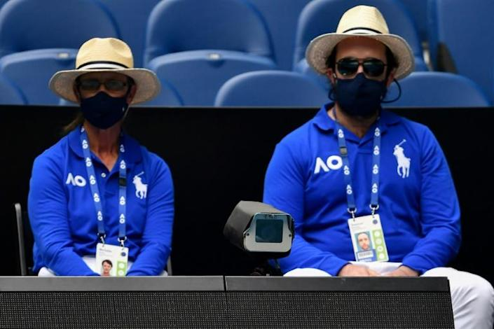On-court line judges have been replaced by ball-tracking cameras