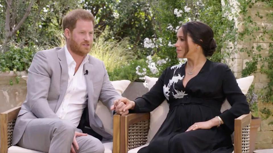 Harry and Meghan (Photo: CBS)