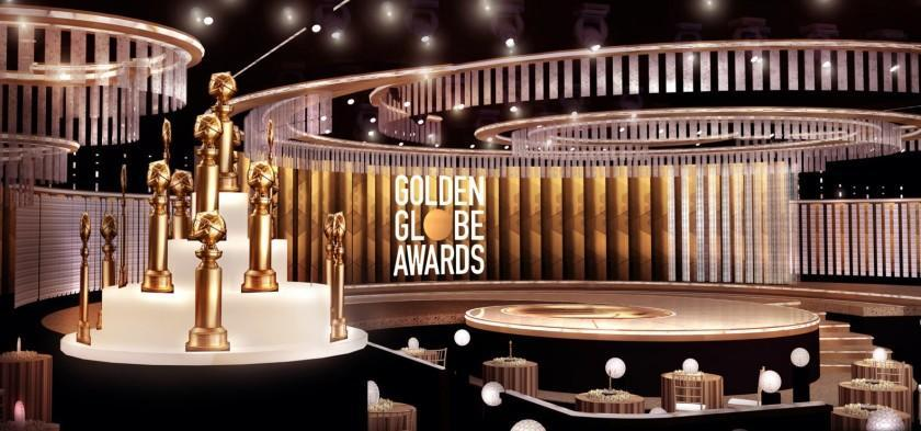 The stage is set for the Golden Globe Awards.