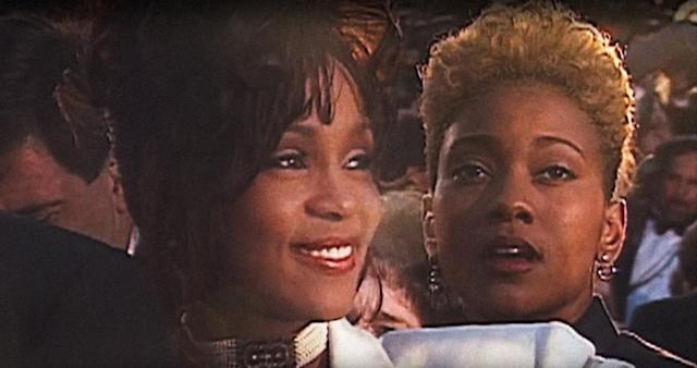 Whitney Houston and her reported lover Robyn Crawford in archival footage from the 2017 documentary <em>Whitney: Can I Be Me</em>. (Photo: Showtime/courtesy Everett Collection)