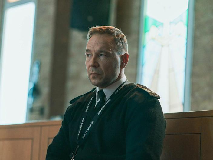 Stephen Graham in the BBC drama 'Time' (BBC/James Stack)