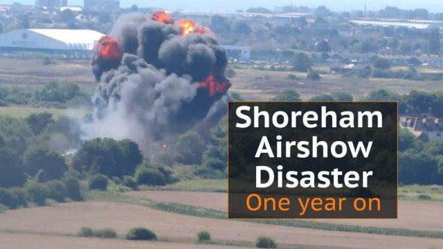 Shoreham Airshow disaster: One year on