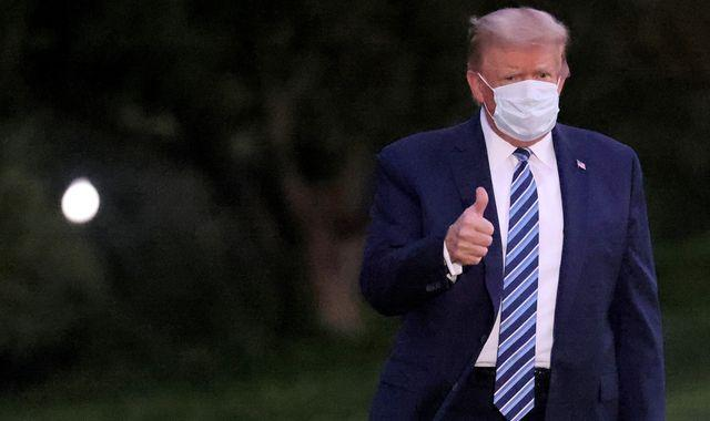 Coronavirus: Donald Trump returns to the Oval Office, even though he is still recovering from COVID-19