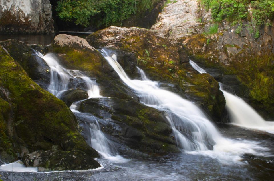 Some of the scenery at Ingleton Waterfalls (Getty Images)