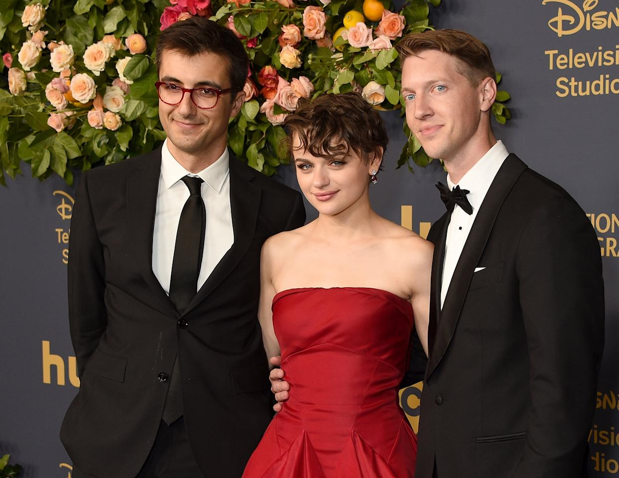 """<p>After her breakup with Jacob, Joey reportedly began seeing Steven Piet (right), whom she met while working on <strong>The Act</strong>. Steven was a producer on the Emmy-nominated miniseries, which starred Joey as Gypsy Rose Blanchard, a woman who suffered Munchausen's by proxy at the hands of her mother and rebelled with violent results.</p> <p>According to <strong>E! News</strong>, <a href=""""http://www.eonline.com/news/1069988/joey-king-cuddles-up-to-boyfriend-the-act-exec-steven-piet"""" target=""""_blank"""" class=""""ga-track"""" data-ga-category=""""Related"""" data-ga-label=""""http://www.eonline.com/news/1069988/joey-king-cuddles-up-to-boyfriend-the-act-exec-steven-piet"""" data-ga-action=""""In-Line Links"""">the couple were spotted cozying up</a> during a screening of <strong>Harry Potter and the Chamber of Secrets</strong> in September, apparently on a triple date alongside Joey's sisters and their dates.</p> <p>""""They were very affectionate and were with her two sisters sitting watching the movie together. Joey and Steven cuddled the entire time and looked very happy together,"""" a source revealed. """"They had snacks and drinks and were laughing with her sisters.""""</p> <p>Steven and Joey were also seen together on the red carpet at the Walt Disney Studios Emmys party, where they were technically both there as nominees from <strong>The Act</strong>.</p>"""