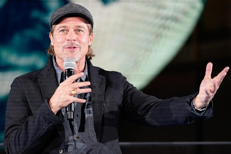 Brad Pitt asks NASA astronaut who chooses the tunes in space
