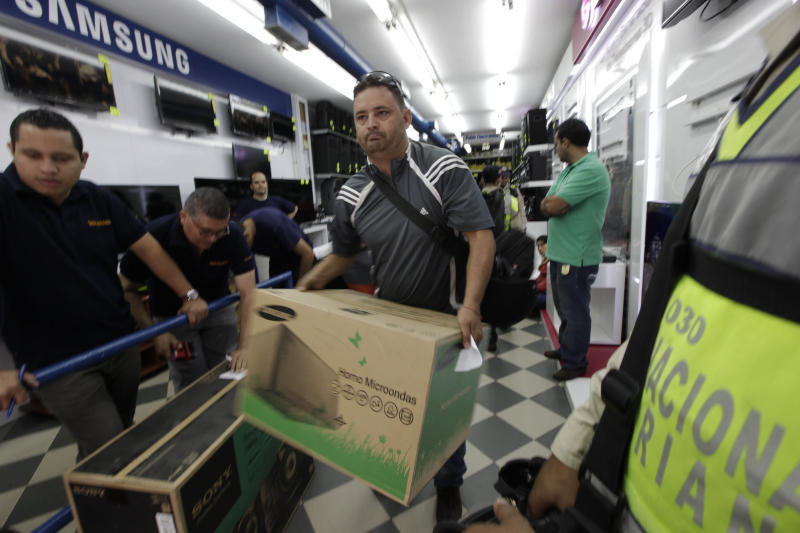 Venezuela appliances crackdown spurs uncertainty